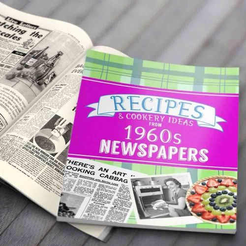 Personalised Recipes from 1960s Newspapers